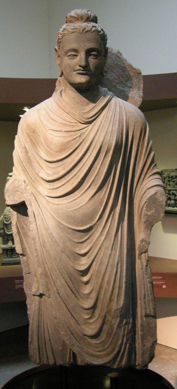 Gandhara,_bodhisattva_stante,_II_sec._4.JPG
