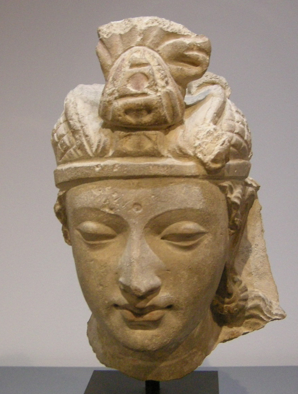 Gandhara,_testa_di_bodhisattva_da_hadda,_IV-V_secolo_dc..JPG