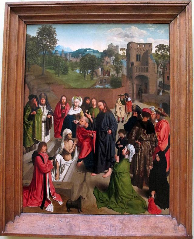 Geertgen_tot_sint_jans,_resurrezione_di_lazzaro,_1480-85_ca._01.JPG