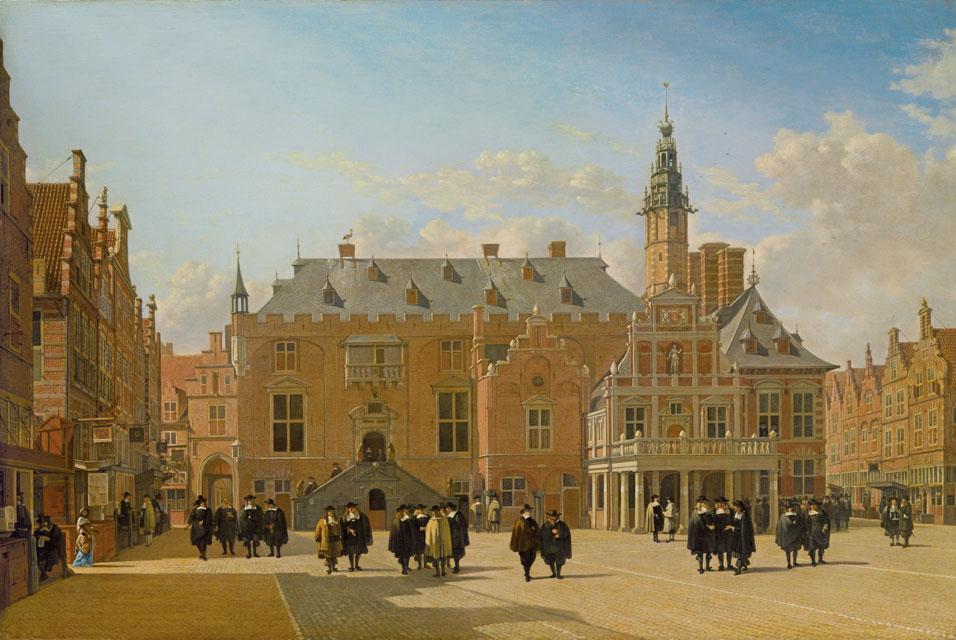 Gerrit-Adriaensz.-Berckheyde-View-of-the-Town-Hall-in-the-Market-Square-of-Haarlem-1661.jpg