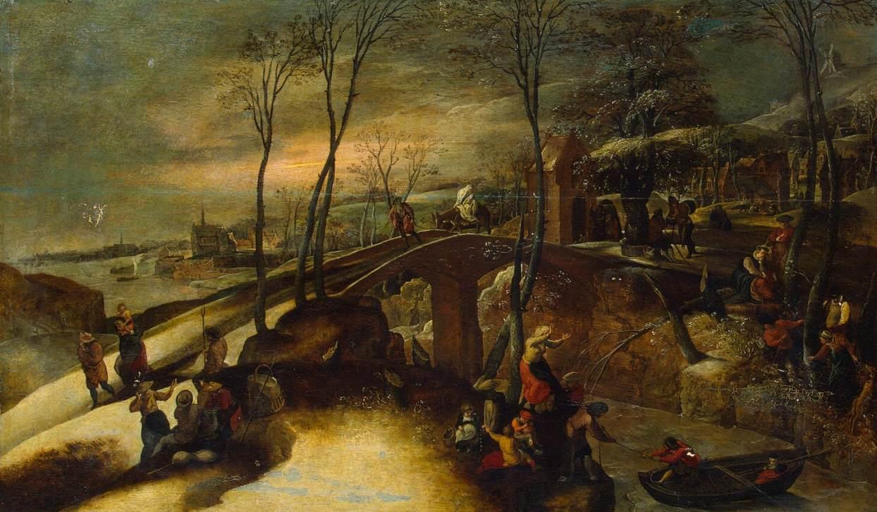 Gillis Mostaert Старший (1534–1598landscap мостарт.jpg