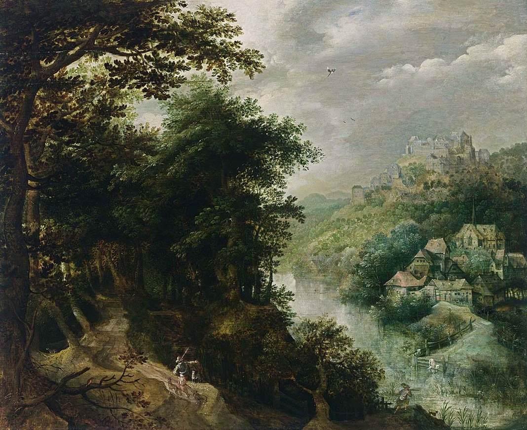 GILLIS VAN CONINXLOO III (1544 – 1606)riverlan.jpg
