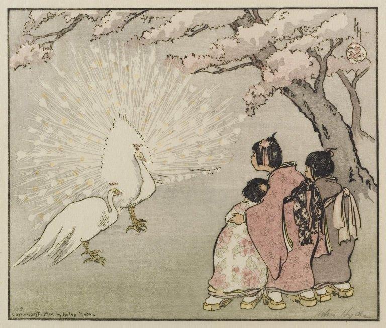 Helen HydeBrooklyn_Museum_-_White_Peacock_-_Helen_Hyde_-_overall.jpg