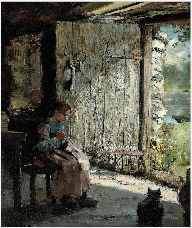 Henry_John_Yeend_King_British_1855_1924_Sewing_at_the_cottage_door_.jpg