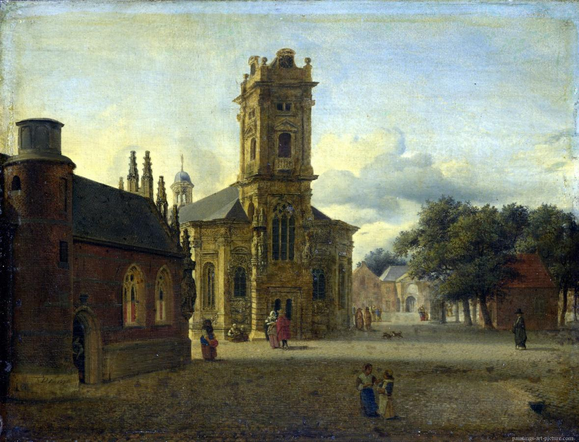 HEYDEN-Jan-van-der-A-Square-before-a-Churchk.jpg