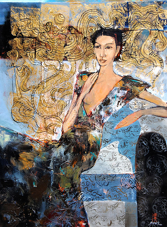 Hua-Thanh-Binh,-Lady-and-Dragon,-Oil-on-Canvas,-127-x-93-cm,-2011.jpg