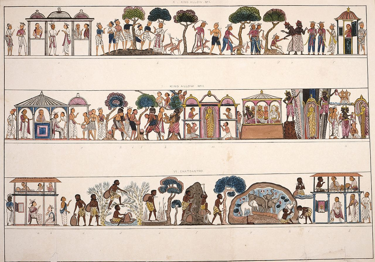 I1850 ланкаllustrations_of_the_Buddha\'s_Birth_Stories_LACMA_M.86.122.jpg