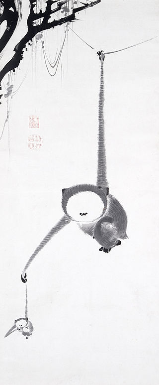 Ito_Jakuchu,_Japanese_(1716–1800),_Two_Gibbons_Reaching_for_the_Moon,_c._1770,_.jpg