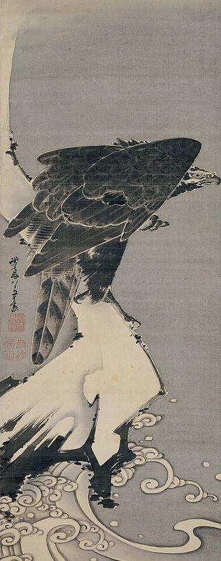 Ito_Jakuchu_-_'Eagle',_1800,_Hanging_scroll;_LACMA.jpg