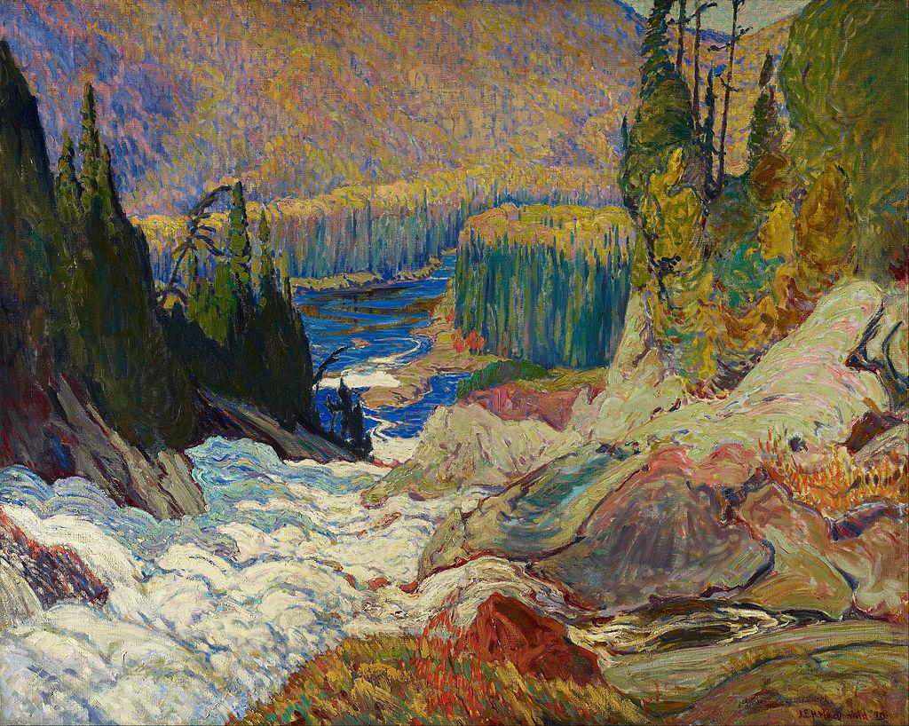 J.E.H._MacDonald_-_Falls,_Montreal_River_-_Google_Art_Project.jpg