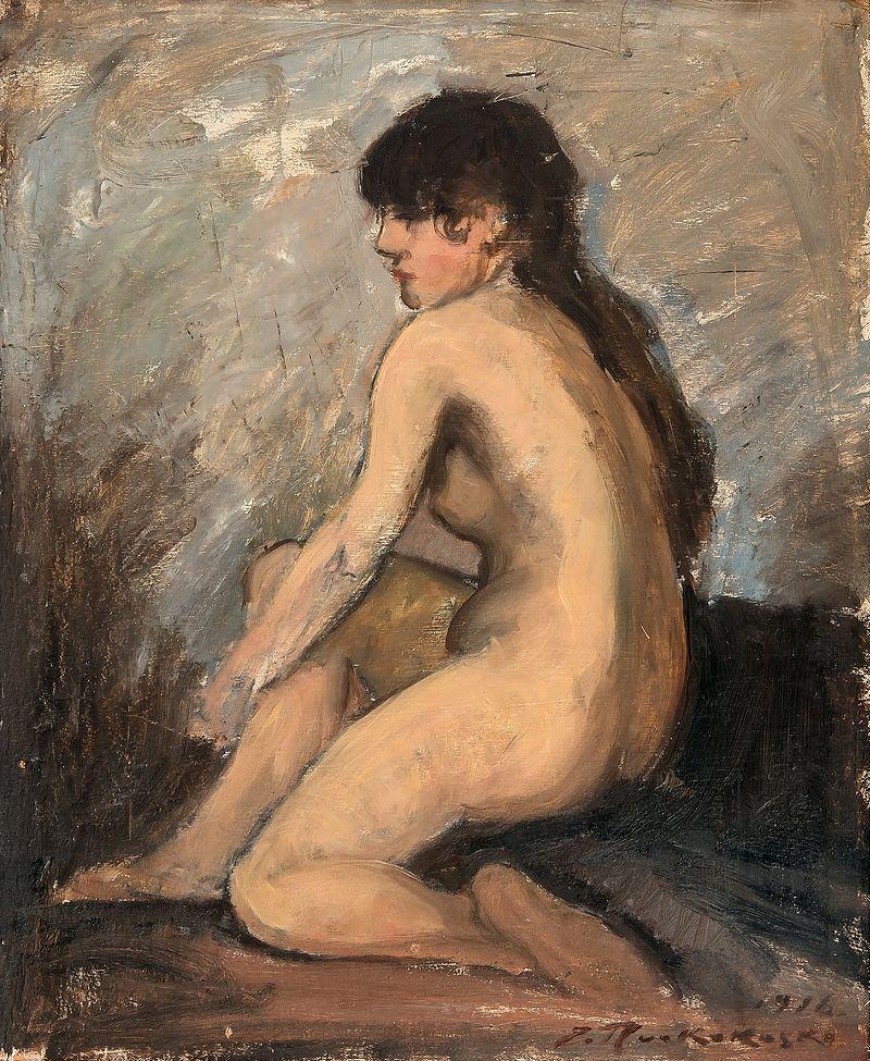 Jalmari_Ruokokoski_-_Istuva_Malli_(1916).jpg