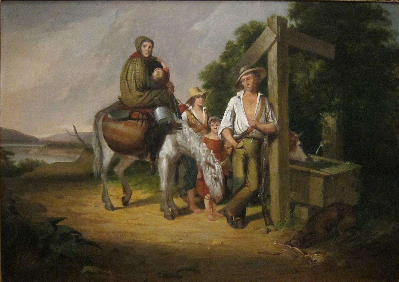 James Henry Beard\'North_Carolina_Emigrants;_Poor_White_Folks\'_by_James_Henry_Beard.JPG