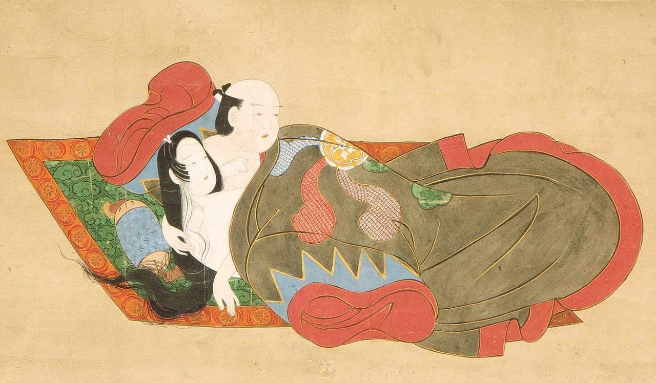 Kanbun_Master_-_'Lovers_Surprised',_late_1660s,_Honolulu_Academy_of_Arts.jpg