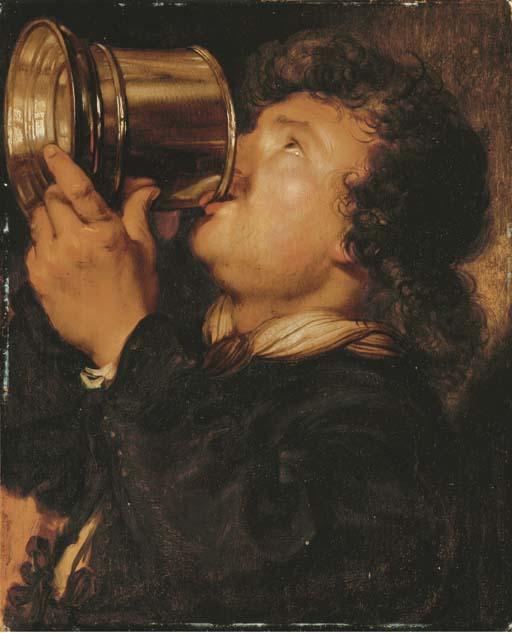 Karel_van_Mander_III_-_man_drinking_beer_from_a_tankard.jpg
