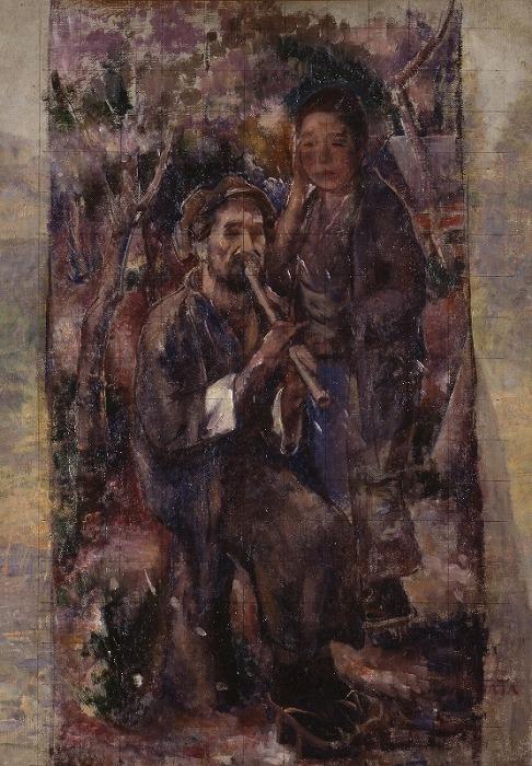 Katada Tokurō(1889-1934Kaka-chikujin(rough_sketch)_by_Katada_Tokurō.jpg