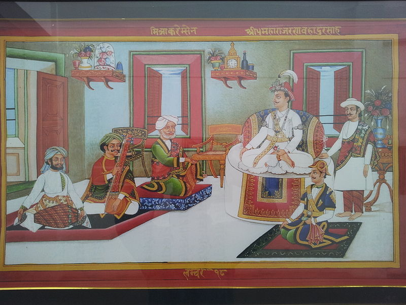 King_Rana_Bahadur_Shah_and_Bhimsen_Thapa.jpg