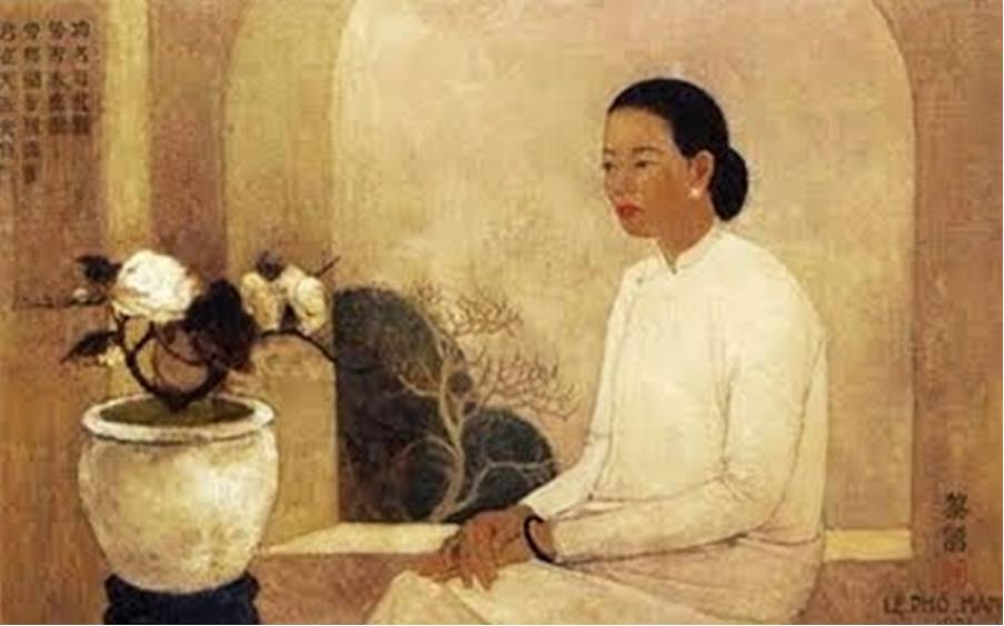 Lê Phổ (1907-2001)Thieuphuvabinhhoa_LePho_zps2fc66022.jpg