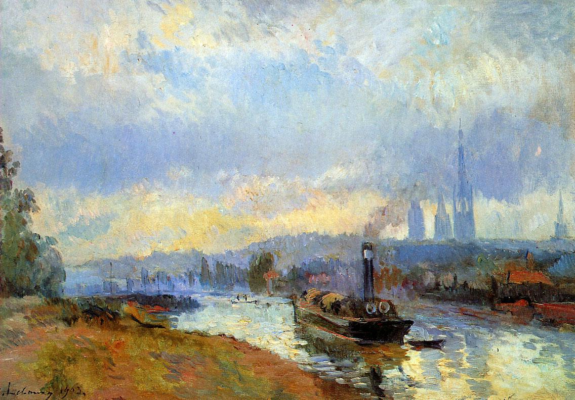 Lebourg-Albert-Charles-Tow-boats-in-Rouen-Sun.jpg