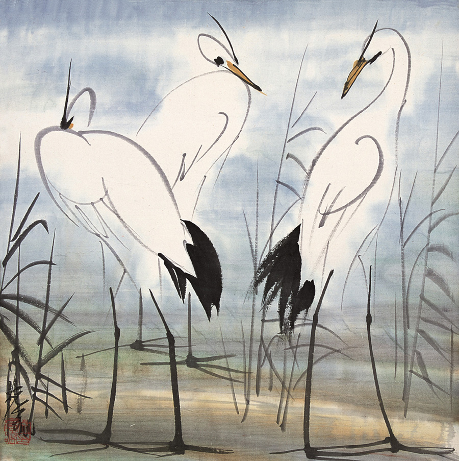 Lin Fengmian 1900-91  bird-1.jpg