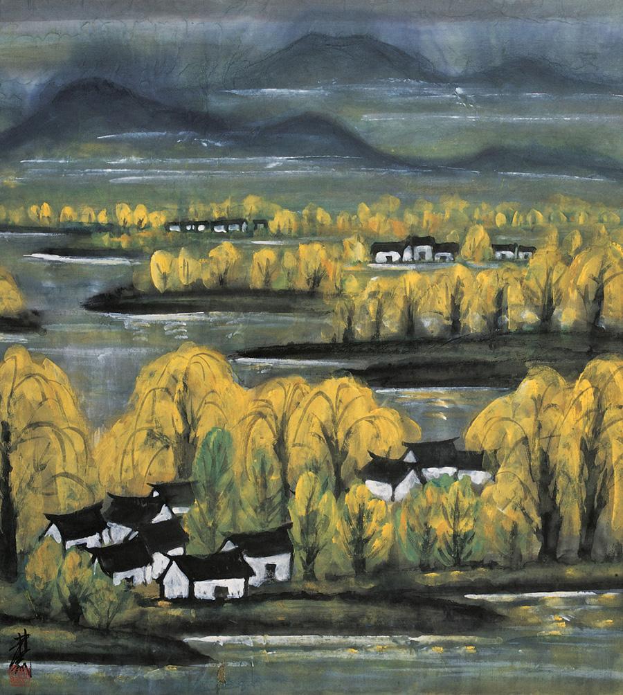 Lin Fengmian landscape-1.jpg