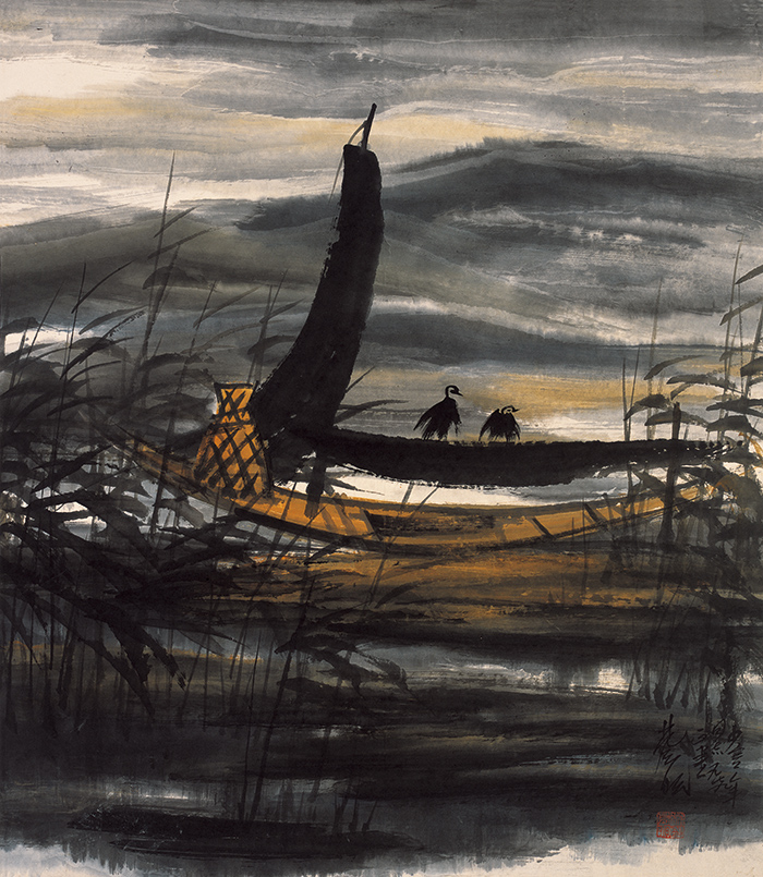 lin-fengmian_fishing-boat-at-dusk.jpg