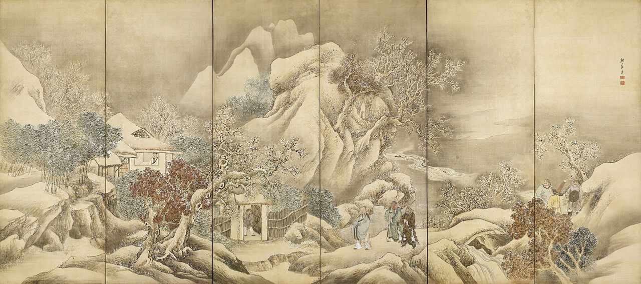 Liu_Bei_Visiting_Zhuge_Liang_by_Yosa_Buson_(Nomura_Art_Museum).jpg
