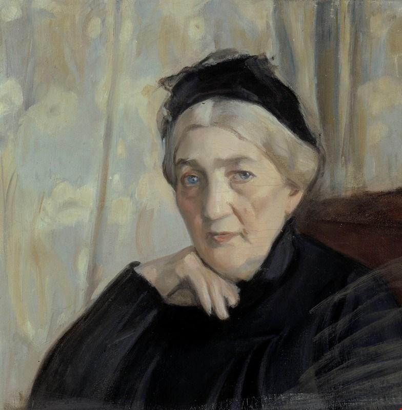 Magnus_Enckell_-_Taiteilijan_äiti_(1904).jpg