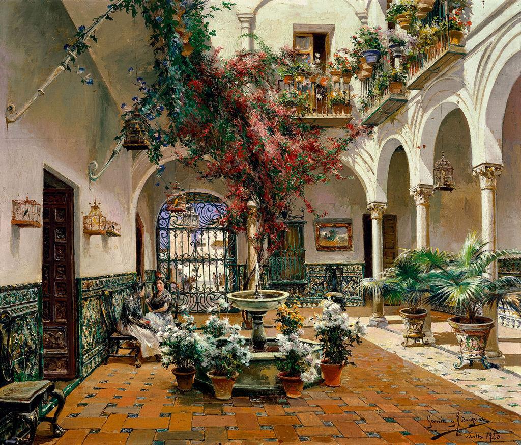 Manuel_García_Rodríguez_Inside_Courtyard,_Seville.jpg