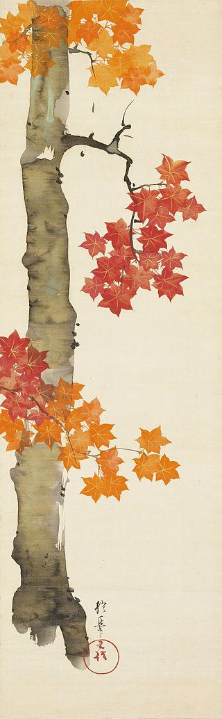 Maple_Tree_by_Sakai_Hoitsu_(Nomura_Art_Museum).jpg