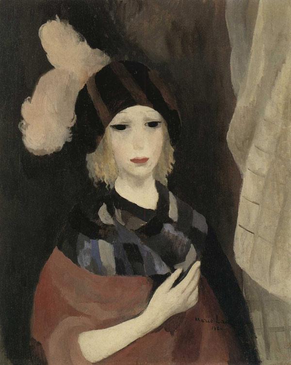 Marie-Laurencin-1924-La-Femme-au-chapeau-a-plumes.jpg