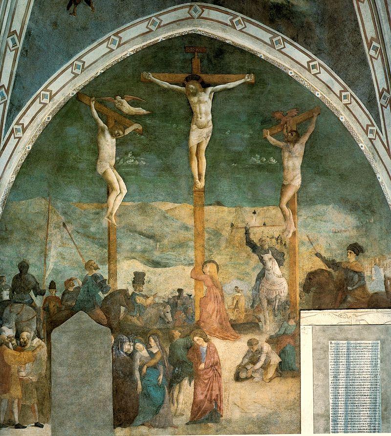Masolino_and_Masaccio._Crucifixion,_fresco_1428-30._San_Clemente,_Rome.jpg