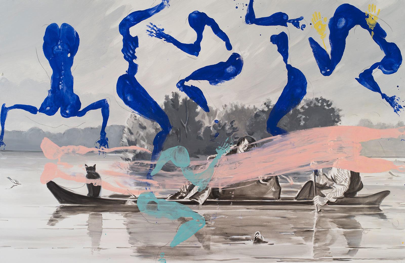 Maureen-Paley-David-Salle-Artwork-Trappers-2013.jpg