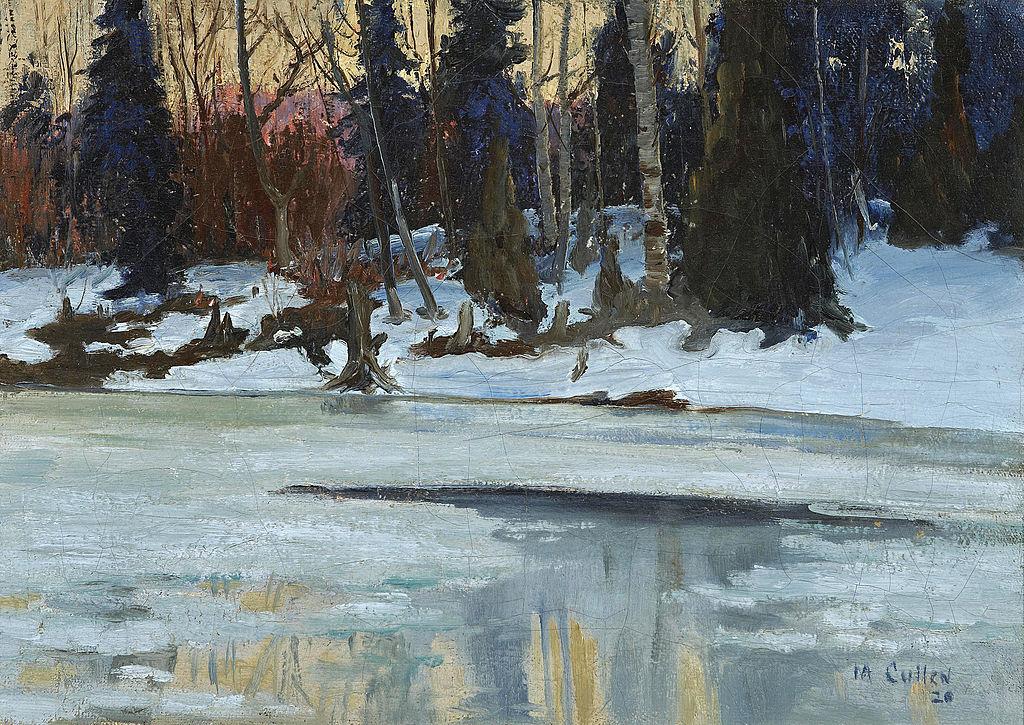 Maurice_Galbraith_Cullen_-_Winter_Evening_in_the_Laurentians_(1920).jpg