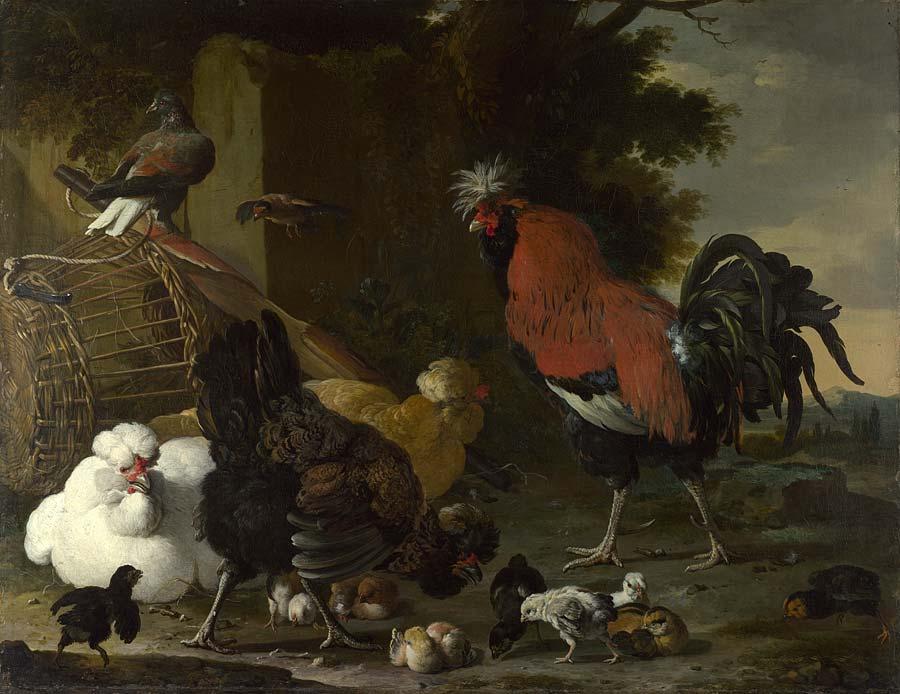 MELCHIOR DE HONDECOETER (1636- 1695).115658.jpg