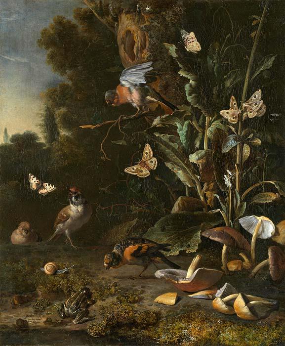 MELCHIOR DE HONDECOETER (1636- 1695).116004.jpg