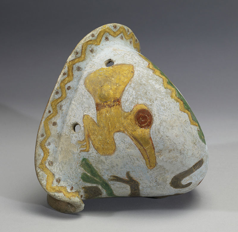 Mixtec_-_Polychrome_Effigy_Shell_-_Walters_482815_-_Side_B.jpg