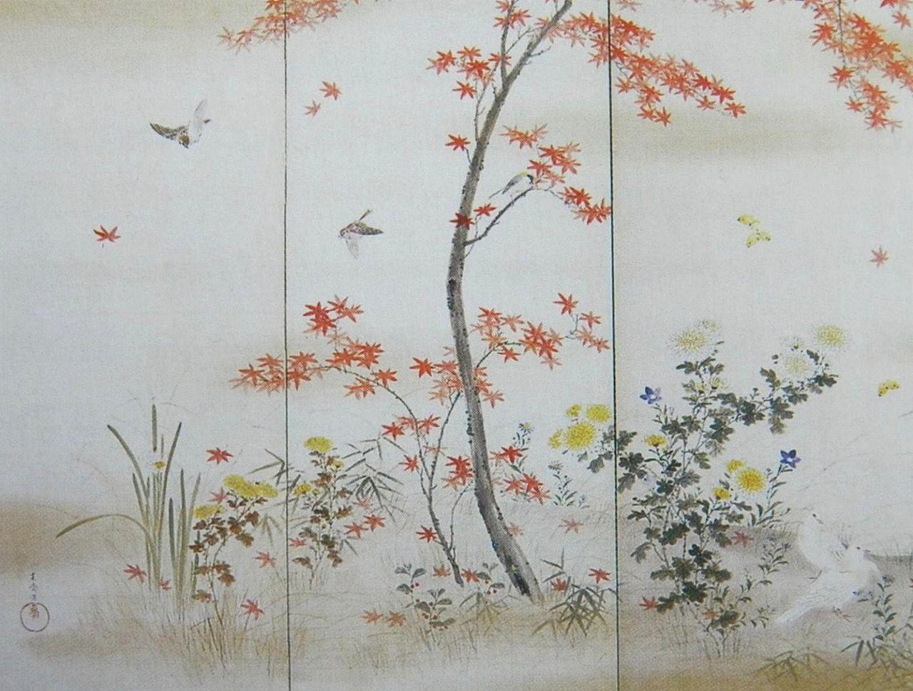 Mori KansaiShiki_kachō-zu_Byōbu_by_Mori_Kansai_01.jpg