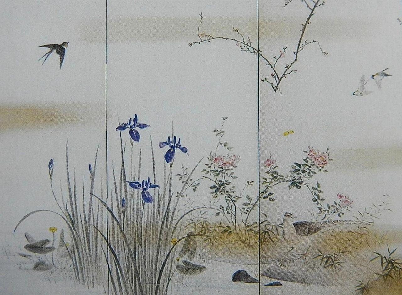 Mori KansaiShiki_kachō-zu_Byōbu_by_Mori_Kansai_03.jpg