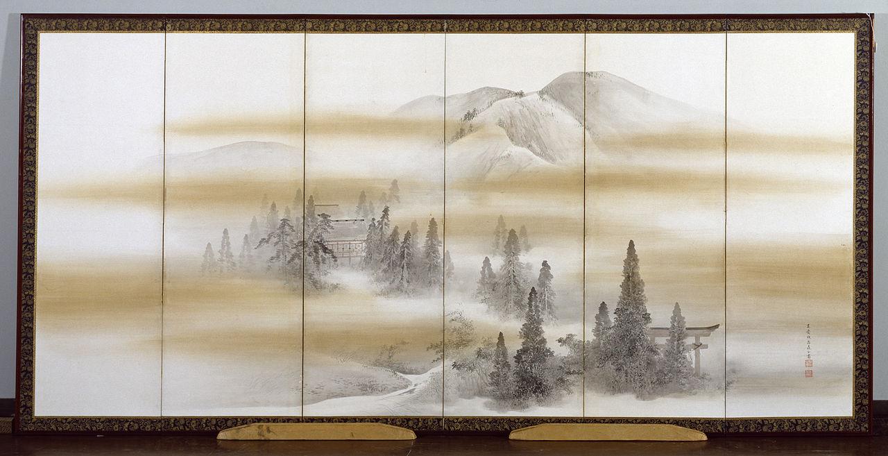 Mori_Kansai_-_Kamigamo_Shrine_in_Summer_-_Walters_35147.jpg