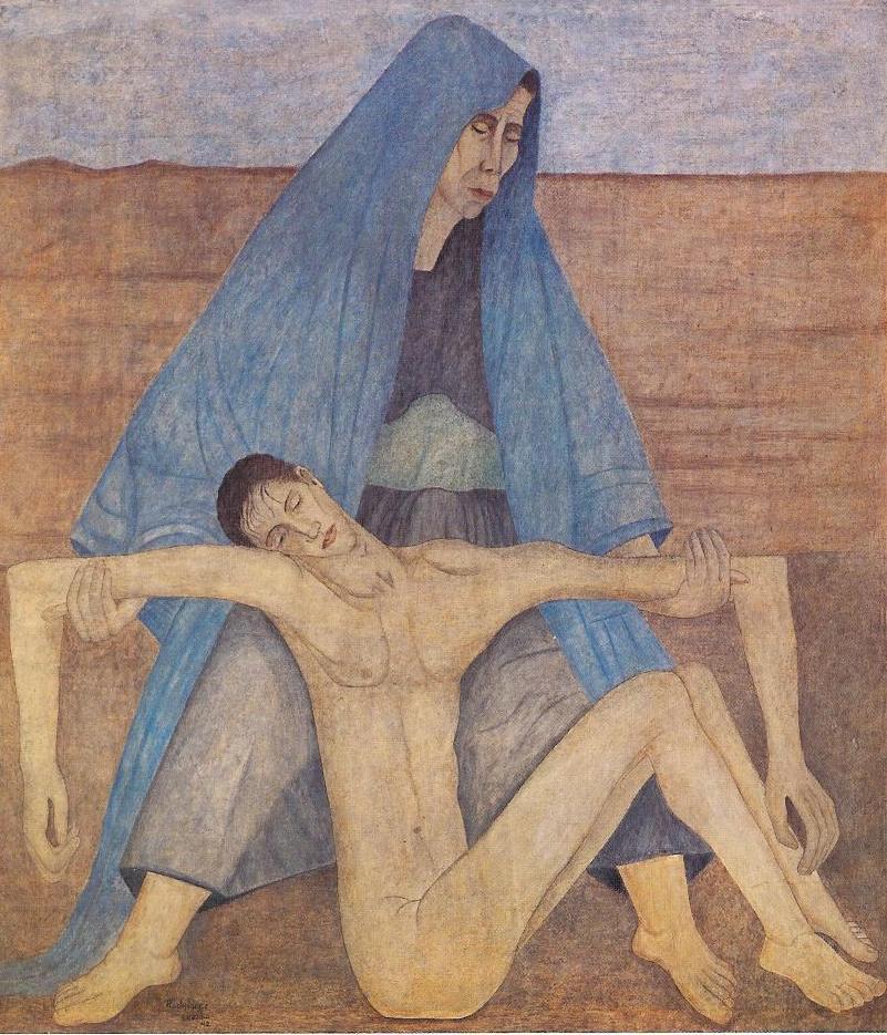 MRL. La piedad en el desierto. 1942.jpg