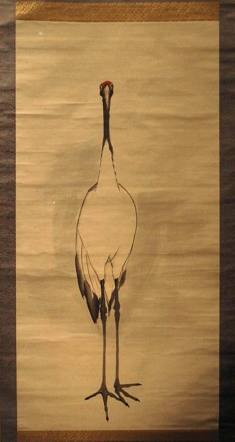 nagasawa rosetsu, crane.jpg