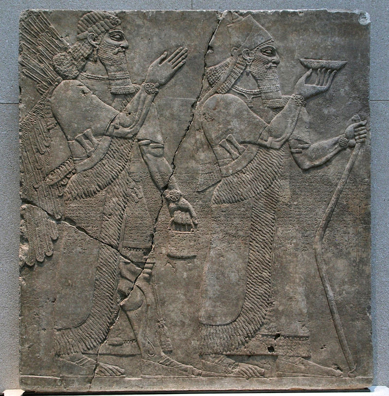 Neues_Museum_-_Relief_-_König_Assurnasirpal_mit_Genius.jpg