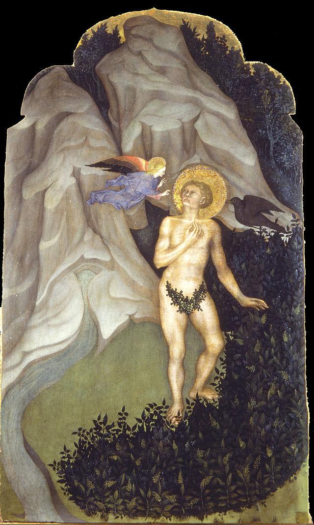 Nicolò_di_Pietro_-_Saint_Benedict_Tempted_in_the_Wilderness_-_Google_Art_Project.jpg