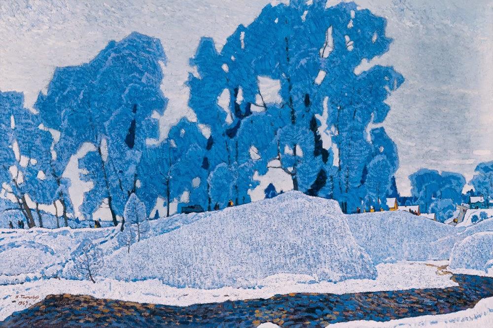 Nikolai Timkov - Russian Winter. Hoarfrost. 1969.jpg
