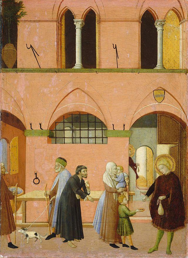 Osservanza_Master._Saint_Anthony_Distributing_His_Wealth_to_the_Poor._1430-35,_Washington_NGA.jpg