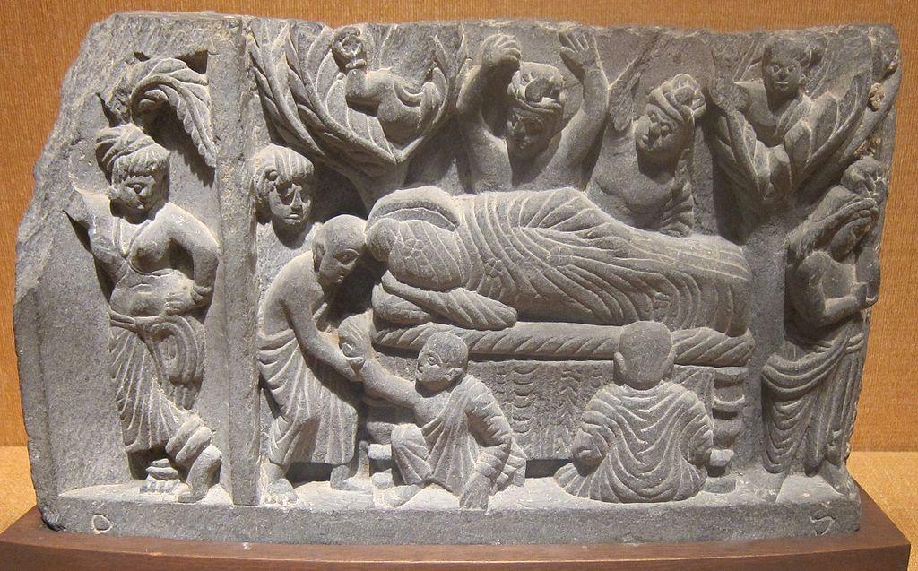 \'Parinirvana\',_India,_Gandhara,_c._100_CE,_stone,_Honolulu_Academy_of_Arts.JPG