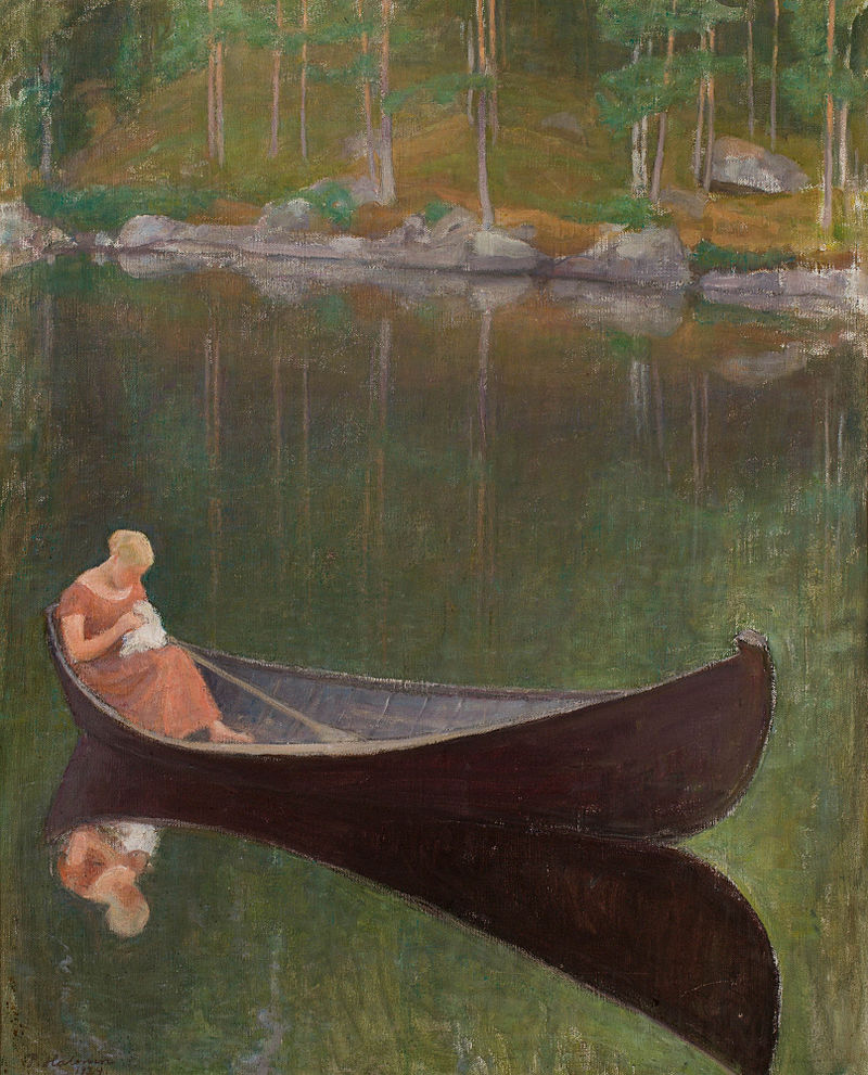 Pekka_Halonen_-_Nainen_veneessä.jpg