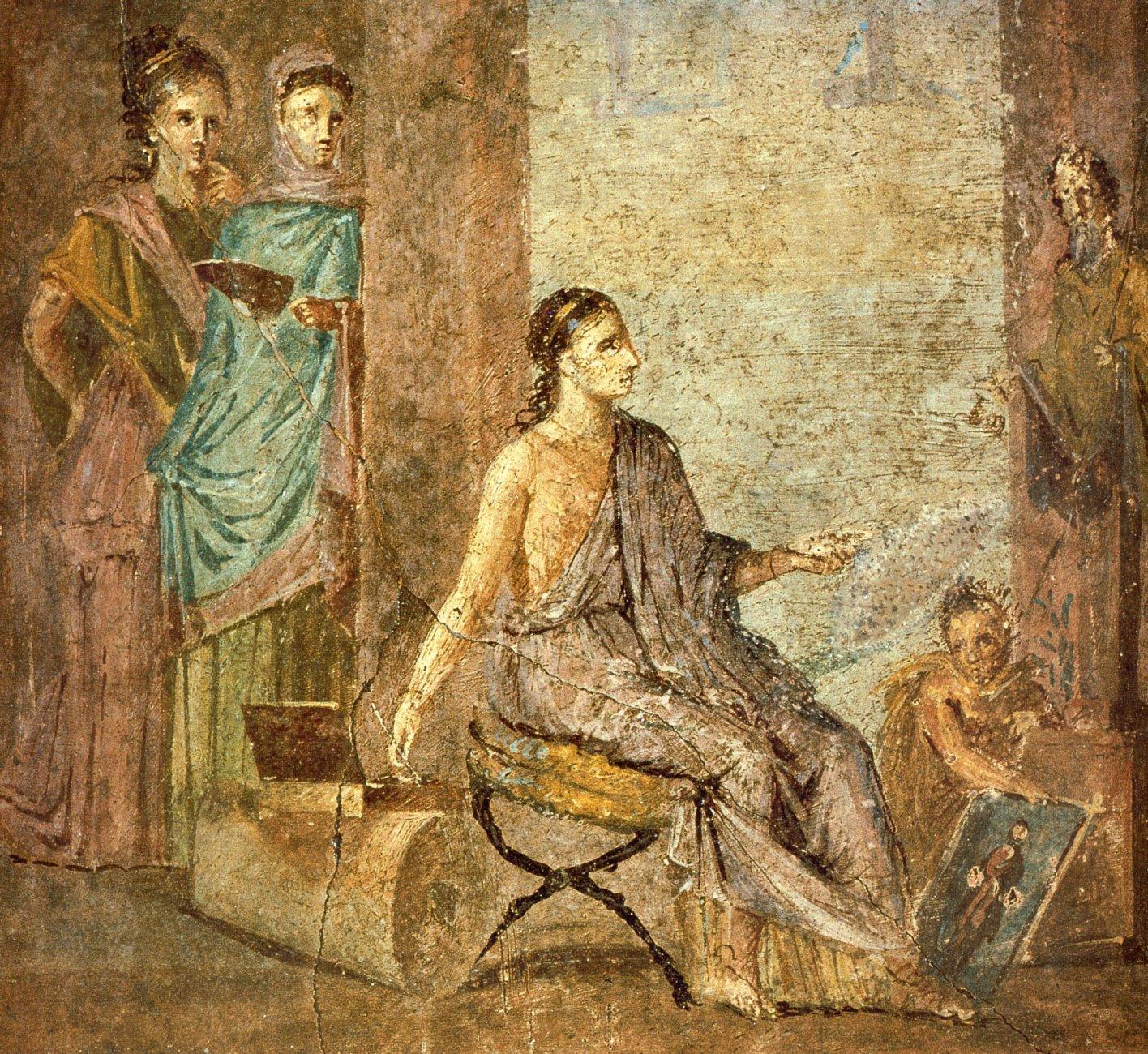 Pompeii_-_Casa_del_Chirurgo_-_Paintress_-_MAN.jpg