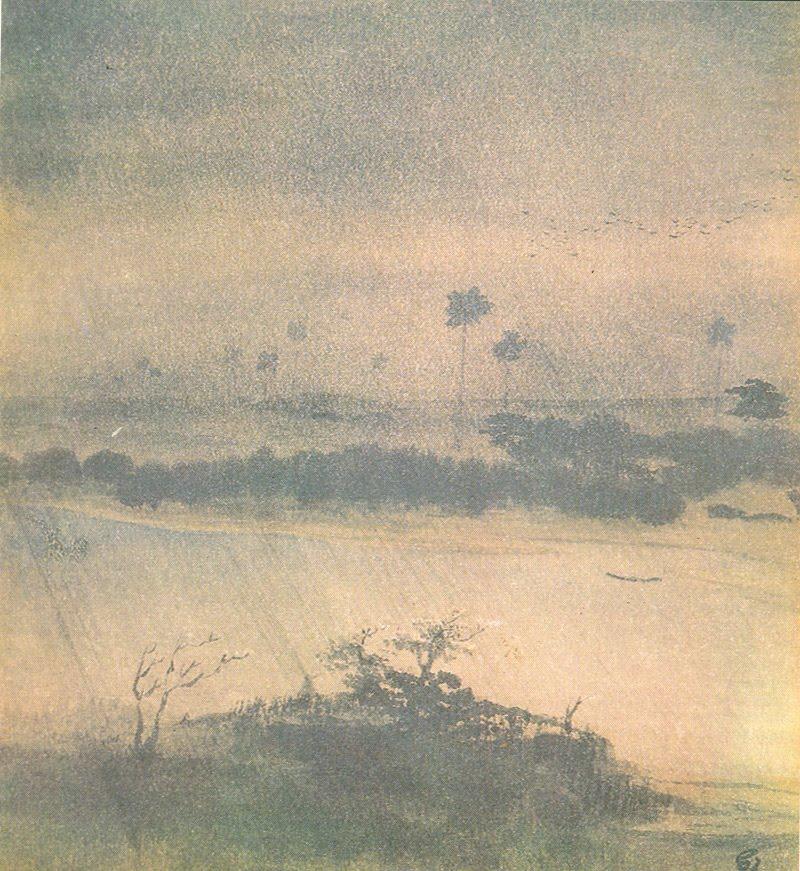 Rainy Season by Gaganendranath Tagore.jpg