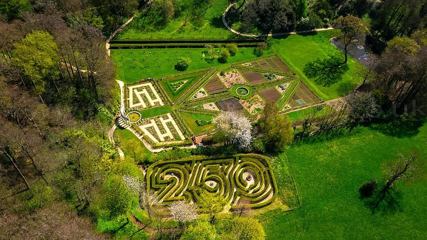 Reason 36 - Rococo Garden Painswick - aerial by Rogue State Media.jpg